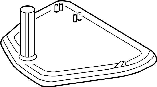 2005 Audi Transmission Filter. LITER, Speed, ENGINE