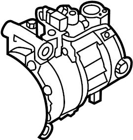 2013 Audi A6 A/c compressor. Gas, liter, repair