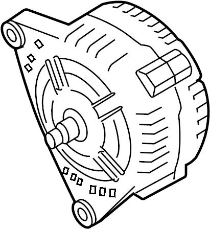 Audi Q5 Alternator. 180 Amp. DIESEL, LITER, Hitachi