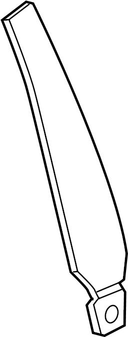 2015 Audi Pillar. Trim. APPLIQUE. Molding. Body B. W/O RS7