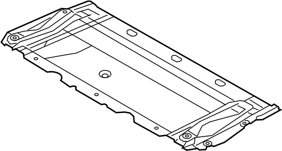 2016 Audi RS7 Shield. 4.0 liter, w/rs7. Cover, splash