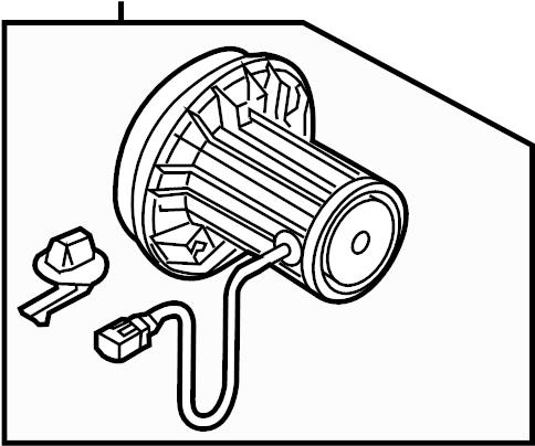 2012 Audi Q5 A. I. R. Pump. Air pump. Secondary air