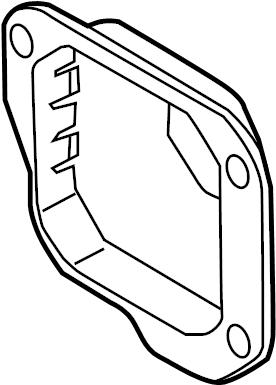 Audi SQ5 Cruise Control Distance Sensor Bracket