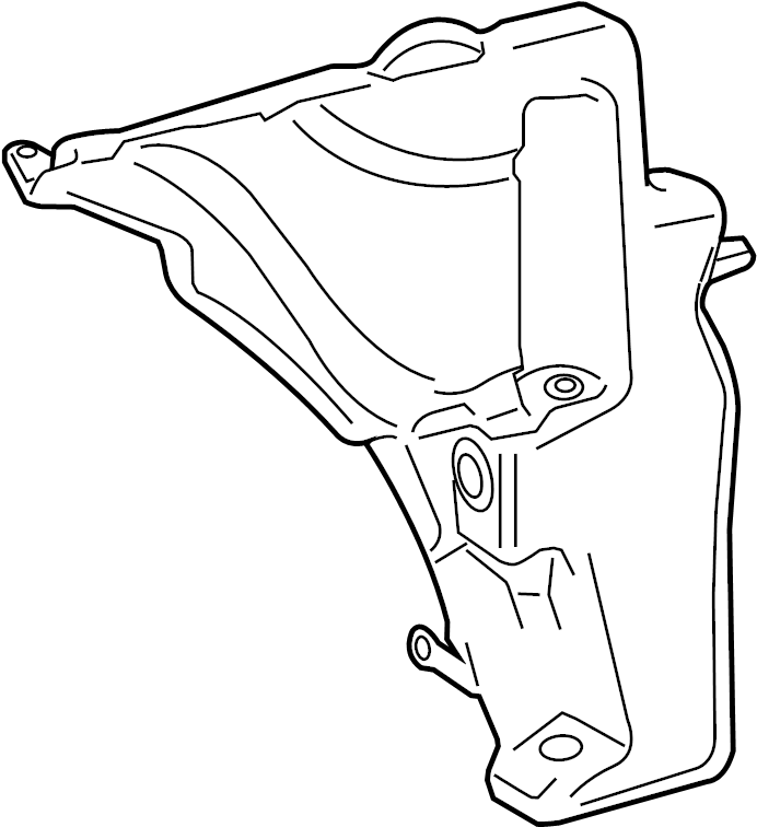 Audi A4 Washer Fluid Reservoir. Washer reservoir. WATER