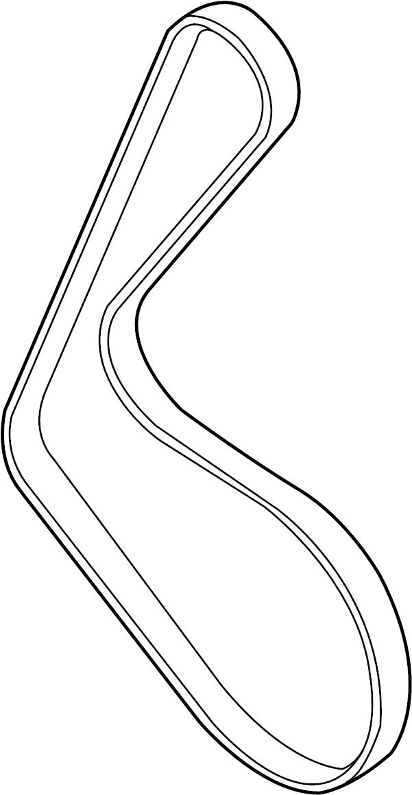 2010 Audi Ac belt. Alternator belt. Drive belt. Ribbedbelt