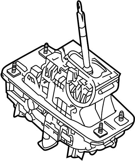 2010 Audi S4 Shift. Transmission. Lever. Automatic. Er
