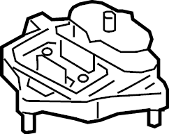 Audi A5 Sportback Mount. Transmission. Automatic. Gear