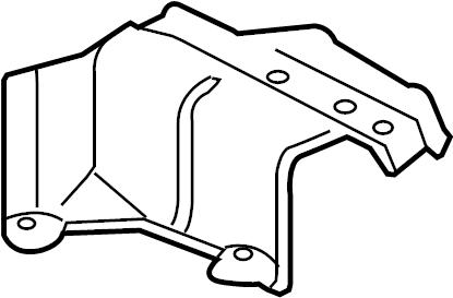 Audi S5 Shield. Heat. COVER. EXHAUST. Floor Pan. PLATE