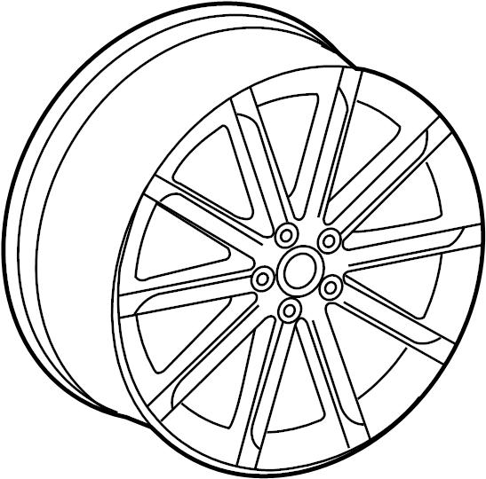 Audi Center Cap