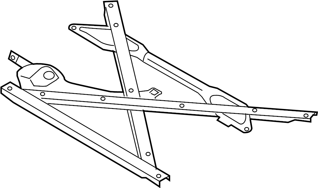 2015 Audi Q5 Suspension. Crossmember. Brace. (lower