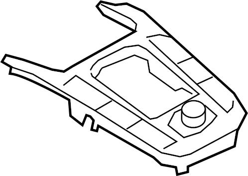 2014 Audi S5 Prestige Coupe Radio. Knob. Module interface