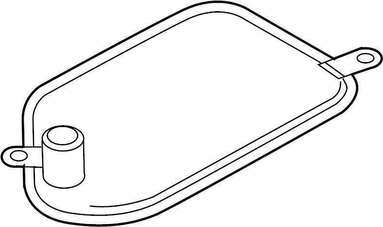 2001 Audi Strainer. Transmission filter. Filter to remove