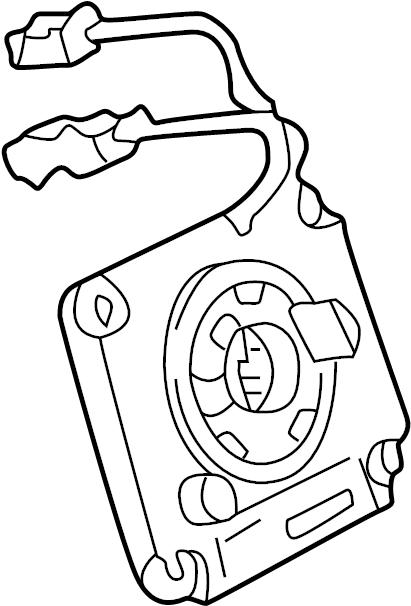 2001 Audi A4 Air Bag Clockspring. Passenger, Driver