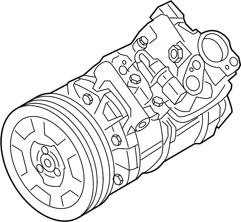 2010 Audi A6 A/c compressor. Chassis, vin, repair