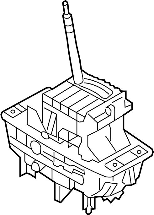 Audi A6 Automatic Transmission Shift Lever. SHIFTER
