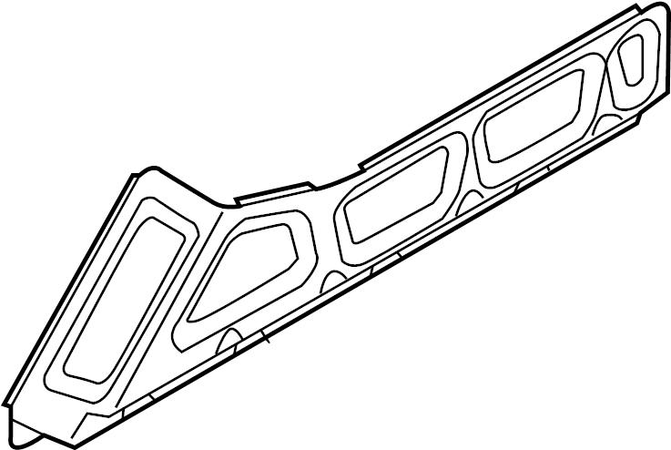2012 Audi A4 Cover plate. COVERPLATE. Heat shield. LITER