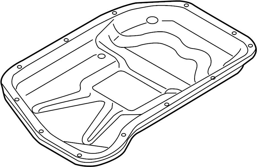 2013 Audi Q5 Automatic Transmission Oil Pan. OIL SUMP