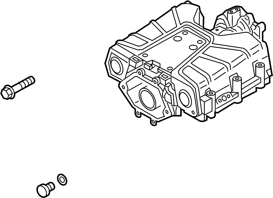2014 Audi Compressor assembly. Gas, engine, supercharger