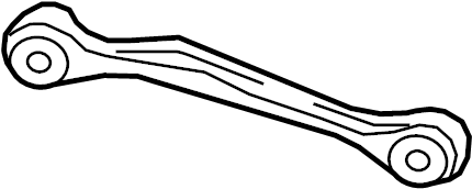 2011 Audi A4 Base Sedan 2.0L A/T Quattro Arm. Lateral. ROD
