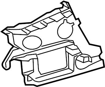 2012 Audi Piece. Upper guide. 2012-15, a6, w/s-line pkg