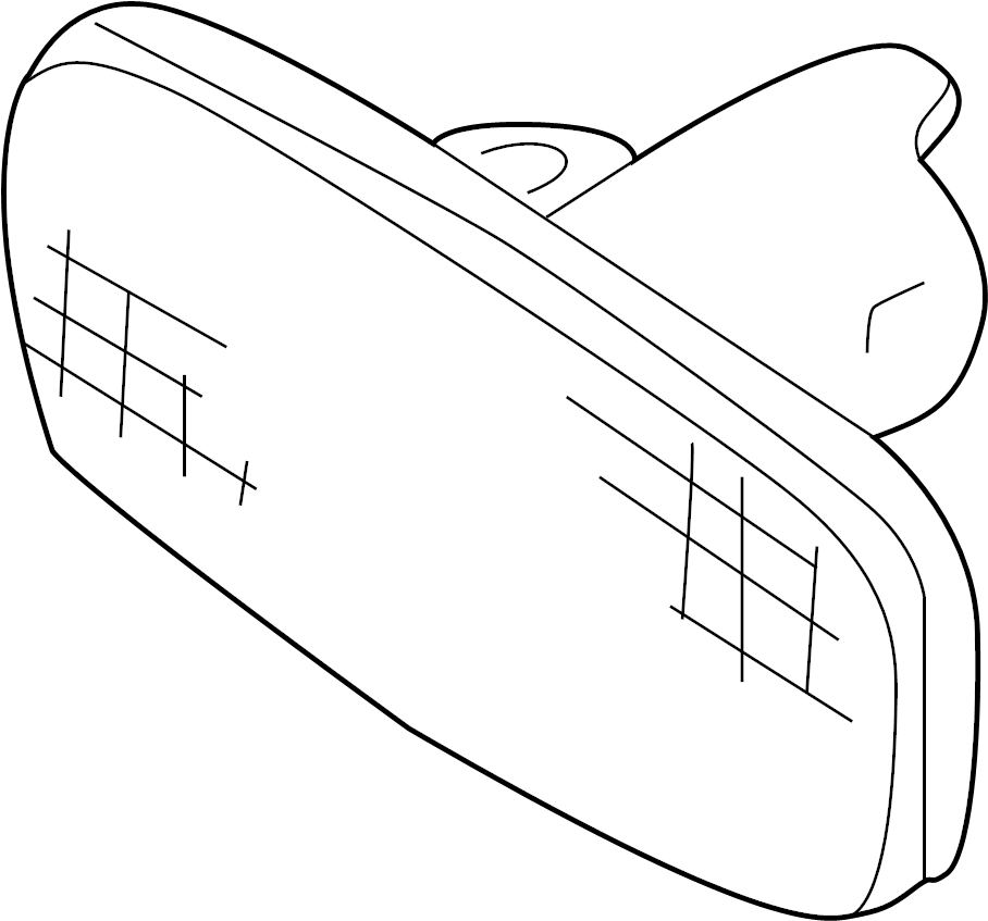 2003 Audi A4 Turn Signal Light Assembly. 2005-08. S6