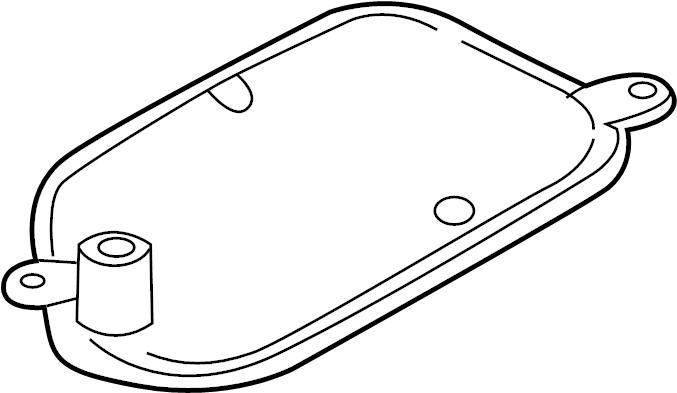 Audi A8 Strainer. Transmission filter. Filter to remove