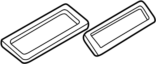 Audi A8 Air distributor seal. GASKET. HVAC Case Seal