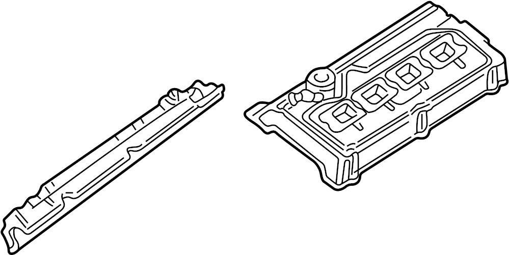 2002 Audi A8 Engine Valve Cover. 4.2 LITER 2000-03. 4.2