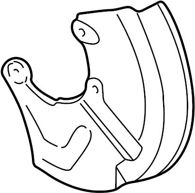 1999 Audi Shield. Splash shield. 1997-99. 2000-03, a8