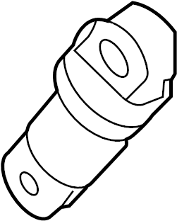 2012 Audi Belt tensioner. Damper. SERPENTINE TENSIONER