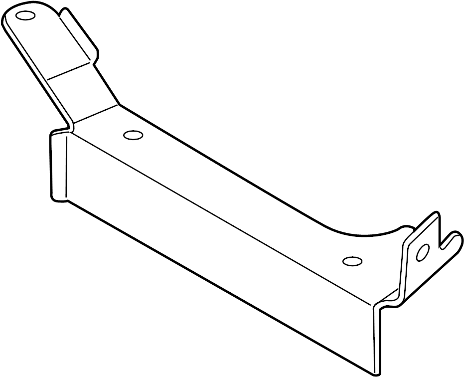 Audi S8 Automatic Transmission Oil Cooler Bracket