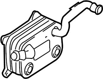 Audi Q7 Engine Oil Cooler. LITER, BEARINGS, CYLINDER