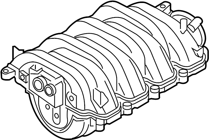 Audi A8 Engine Intake Manifold. 4.2 LITER. Engine