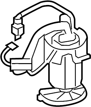 2015 Audi A8 Electric Fuel Pump. Tank, Gas, ENGINE