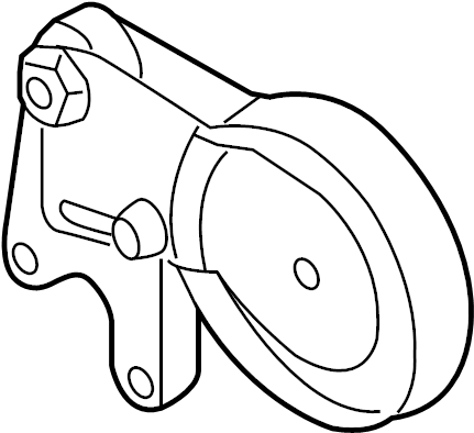 Audi R8 Accessory Drive Belt Tensioner Assembly. ROLLER
