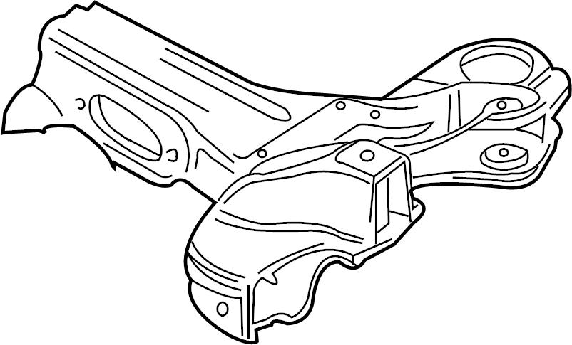 Audi TT Suspension. Crossmember. Subframe. 3.2 LITER