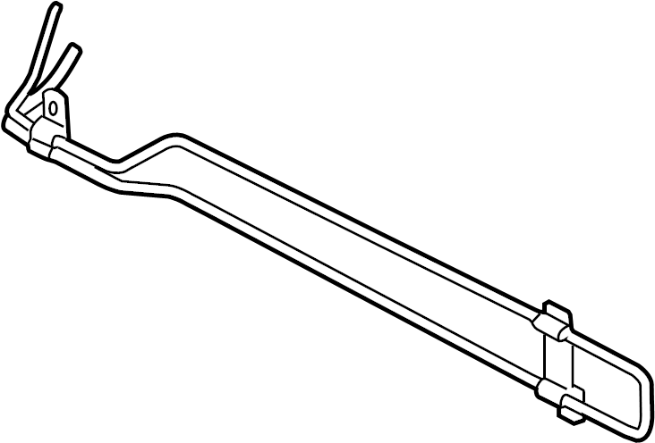 Audi TT Power Steering Cooler. WQuattro, LITER, Fluid