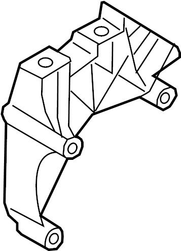 2015 Audi Engine Mount Bracket (Upper). LITER, GAS