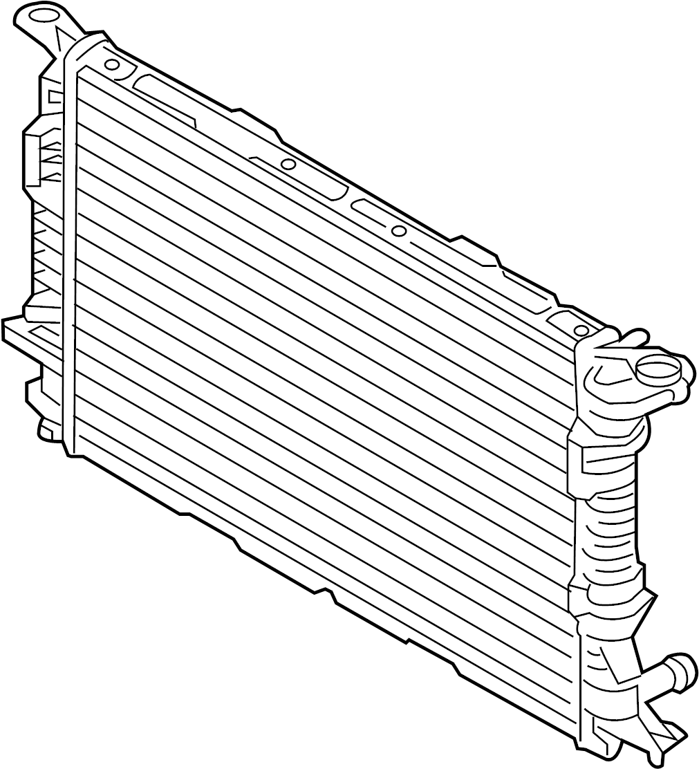 COOLING SYSTEM. COOLING FAN. RADIATOR. WATER PUMP. A4