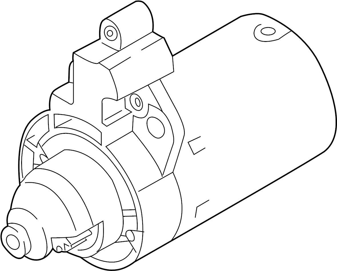 Audi Q3 Starter Motor