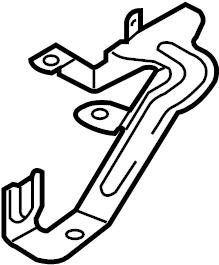 Audi Q7 Holder. Power steering pump reservoir bracket. 3.0