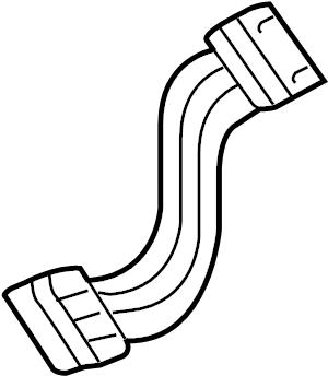 Audi A4 Air Bag Wiring Harness. Steering Wheel Wiring