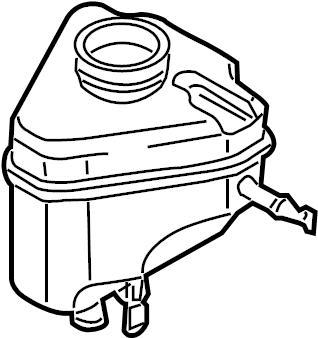 2014 Audi Brake Master Cylinder Reservoir. A holding
