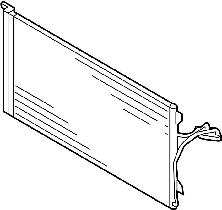 2015 Audi Q7 Air conditioning (a/c) condenser. Incl.a/c