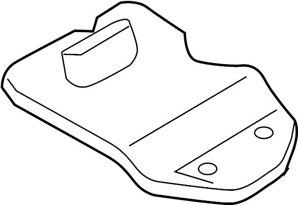 2014 Audi Strainer. Transmission filter. Filter to remove