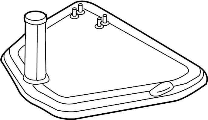 2010 Audi Strainer. Transmission filter. Filter to remove