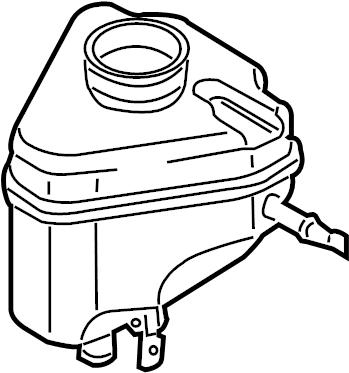 2010 Audi Brake Master Cylinder Reservoir. A holding
