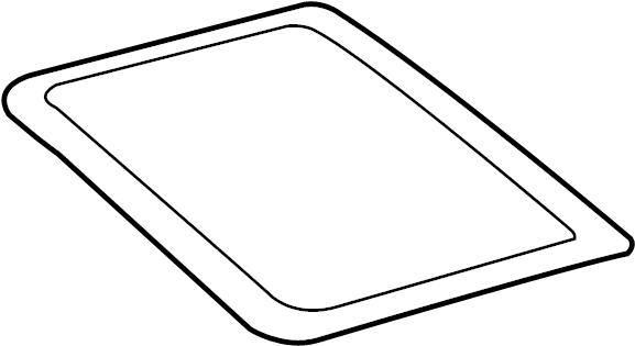2009 Audi Q7 Front glass. GLASSPANEL. Sunroof Glass. GLASS