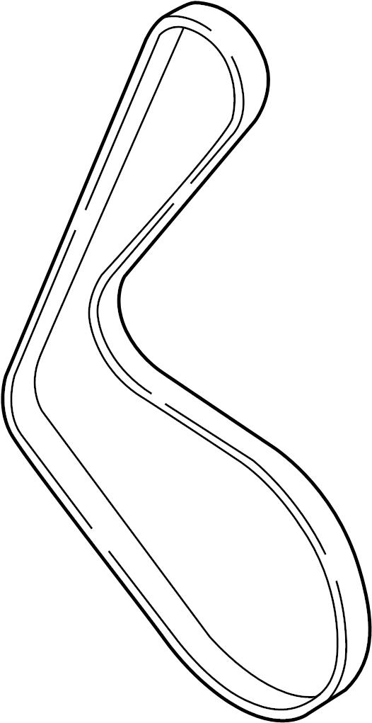 2011 Audi Ac belt. Alternator belt. Drive belt. Ribbedbelt