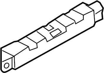 2014 Audi Q5 Antenna Amplifier. ANTENNA BOOSTER; Q5; Lower